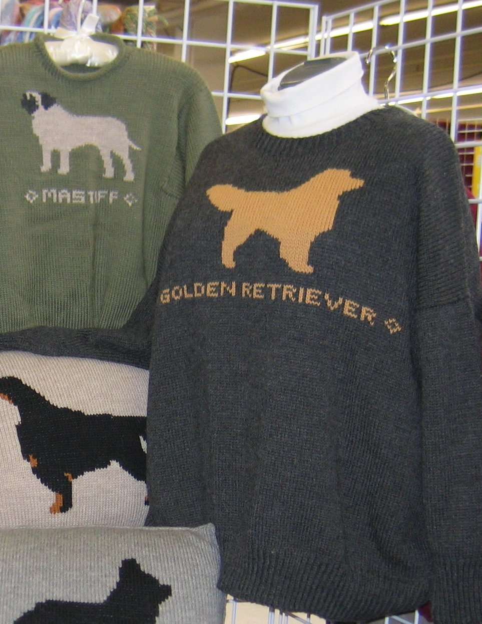 You too can knit sweaters like these.
